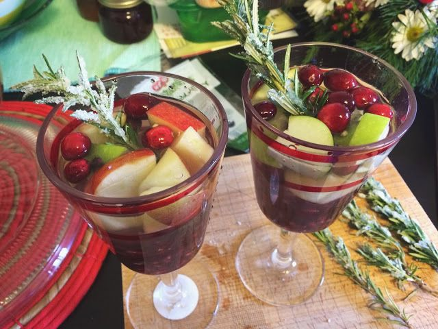 ... riesling and mustard holiday sangria holiday sangria holiday sangria