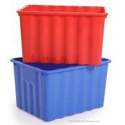 Strata 28lt Super Nova Plastic Storage Box Without Lid Pack Of 5