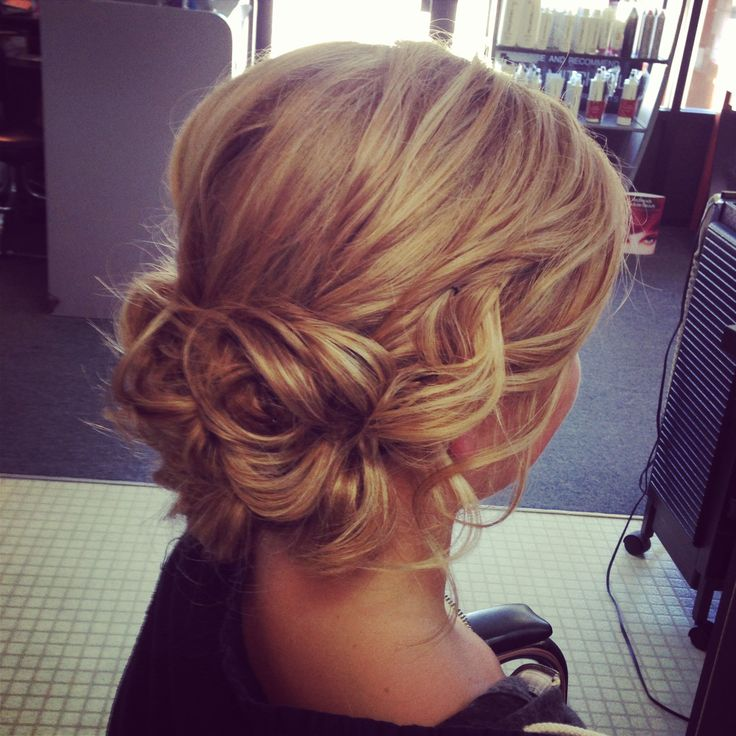Soft Wavy Updo Bottom Is Pretty Wedding Ideas