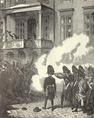 A bécsi forradalom – harc a Hoher Markton 1848. március 14-én