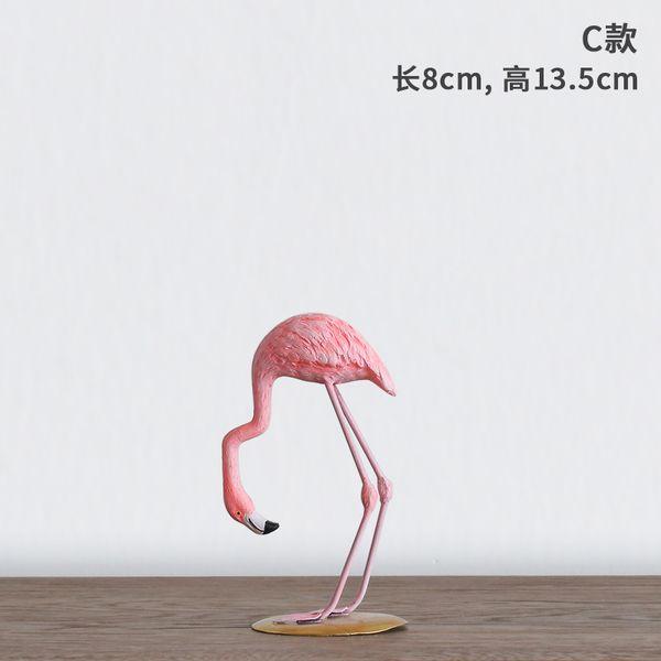 Ионий домашние модули каждый день особые творческие мило фламинго украшение смолы украшения дома настольные украшения