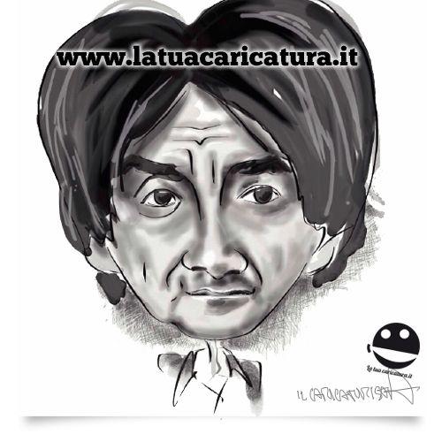 Una nuova caricatura da www.latuacaricatura.it in bianco e nero!