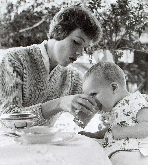 Julie Andrews and her daughter Emma