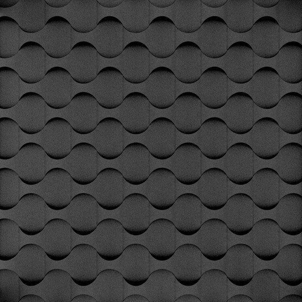 Fluffo, Fabryka Miękkich Ścian. Miękkie panele ścienne 3D, wzór DIVE, opcje ułożenia.
