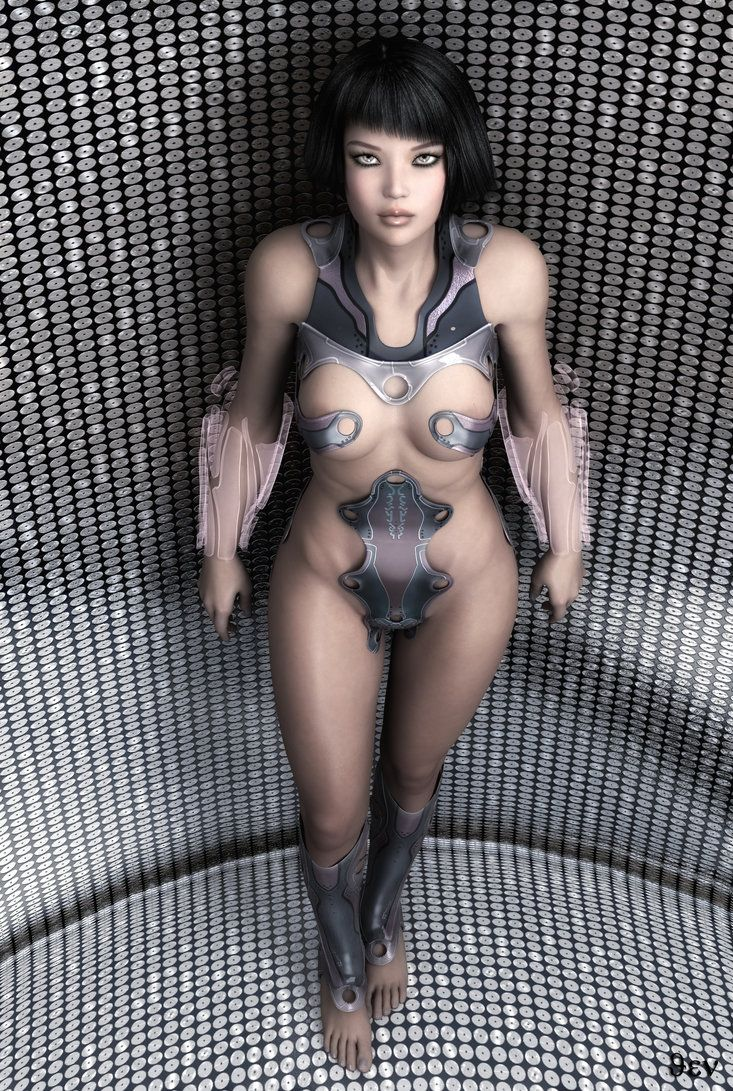 Attractive Naked Robot Lady Pattern - Wiring Standart Installations ...