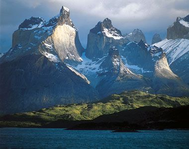 Torres del Paine National Park, Magallanes, Chile