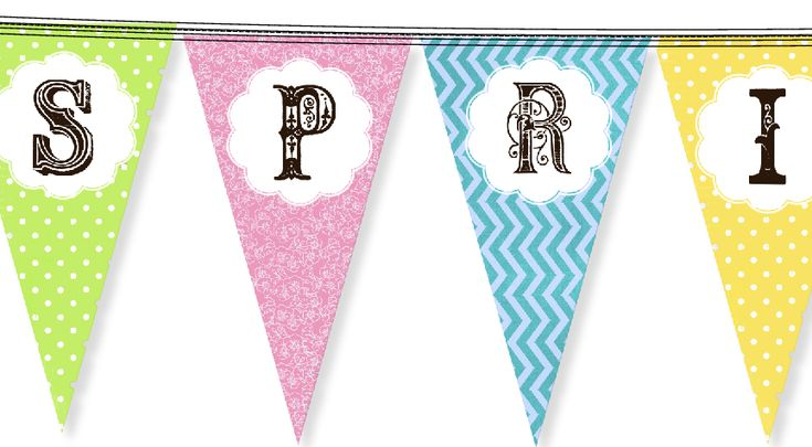 The sun has been shining for the past couple of days here in Portland and we are finally starting to feel like spring might come after all! So for our April free printable we've designed a little banner to get you in the spring spirit too! {Does it remind you of any of our designs? …