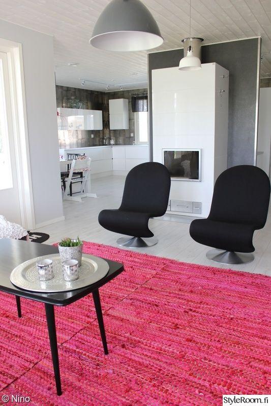 moderni,olohuone,keittiö,värikäs,matto
