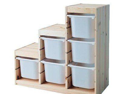 17 mejores ideas sobre decorar cajones de pl stico en - Cajones de madera ikea ...