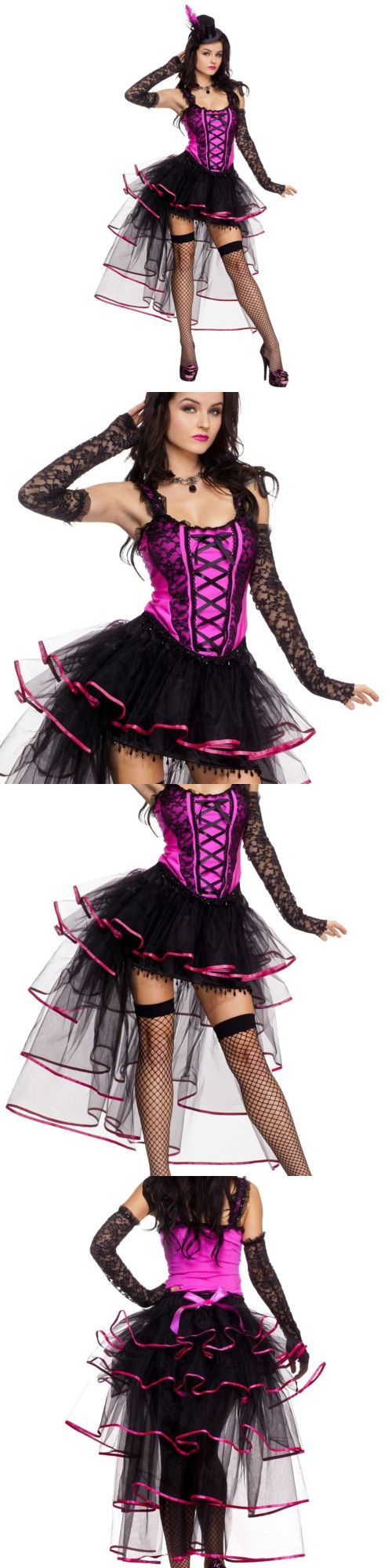halloween costumes women can can costume adult burlesque dancer saloon girl halloween fancy dress buy - Can Can Dancer Halloween Costume