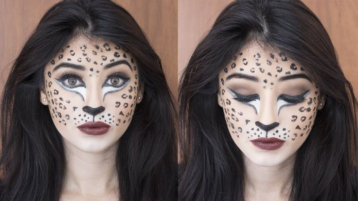 Maquillaje de última hora para Halloween   Maquillaje de Leopardo