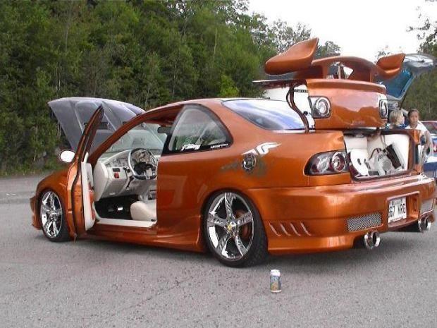 Attirant Album Contains Photo(s) Of Custom Honda Civic