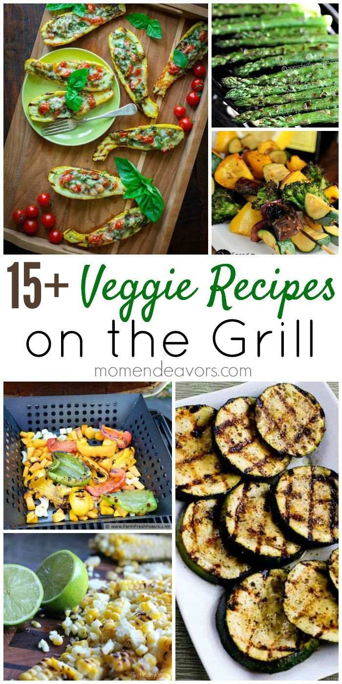 Great collection of Grilled Veggies Recipes from Mom Endeavors, and thanks for including my grilled zucchini!
