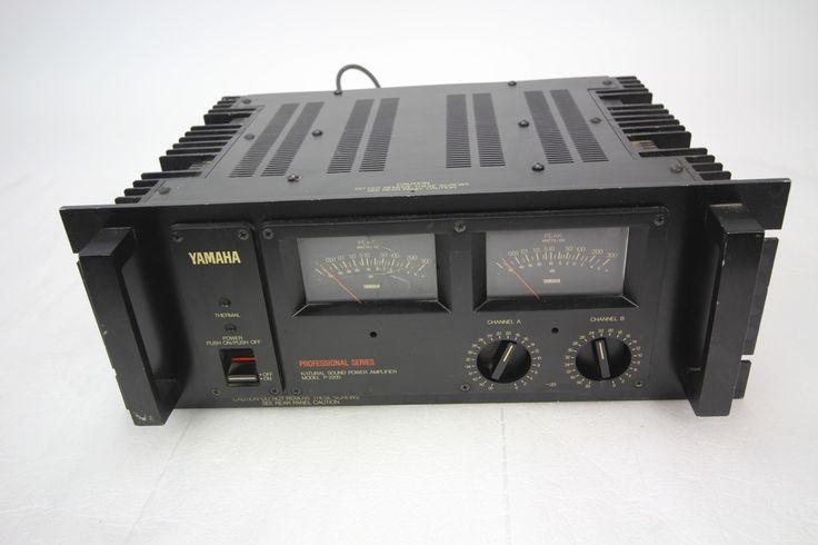 Yamaha P 2200 Stereo Power Amplifier Professional Series