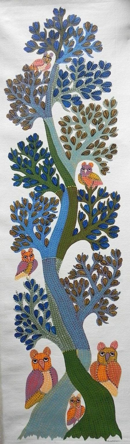 Gond Art - Gareeba Singh Tekam