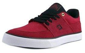 DC Wes Kremer S Round Toe Suede Skate Shoe.