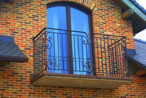 Balustrada balkonowa wzór 76