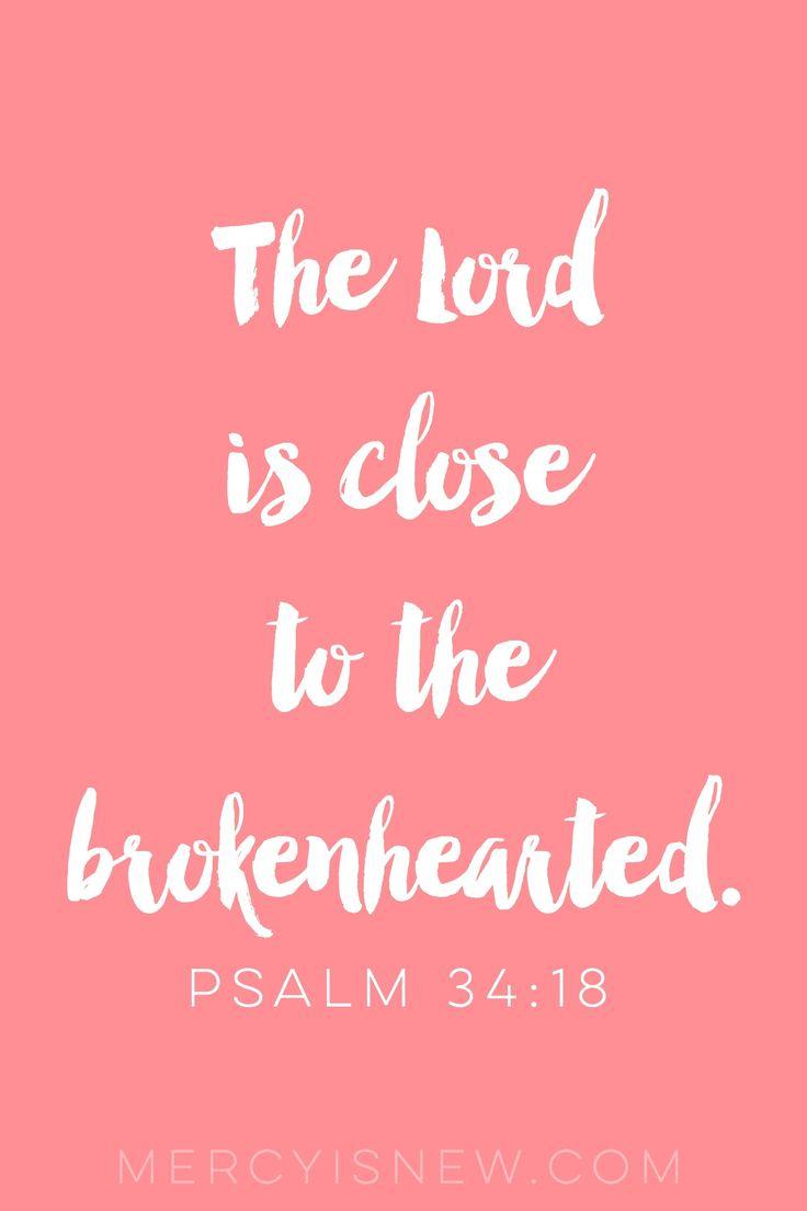 Scriptures for the Brokenhearted  MercyIsNew.com