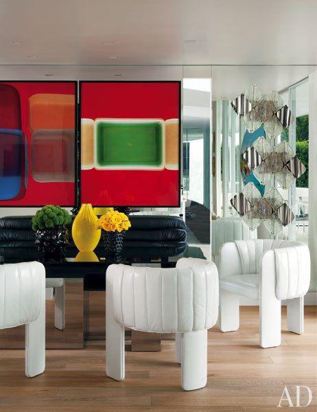 Elton John and David Furnish's Beverly Hills Home designed by Martyn Lawrence Bullard