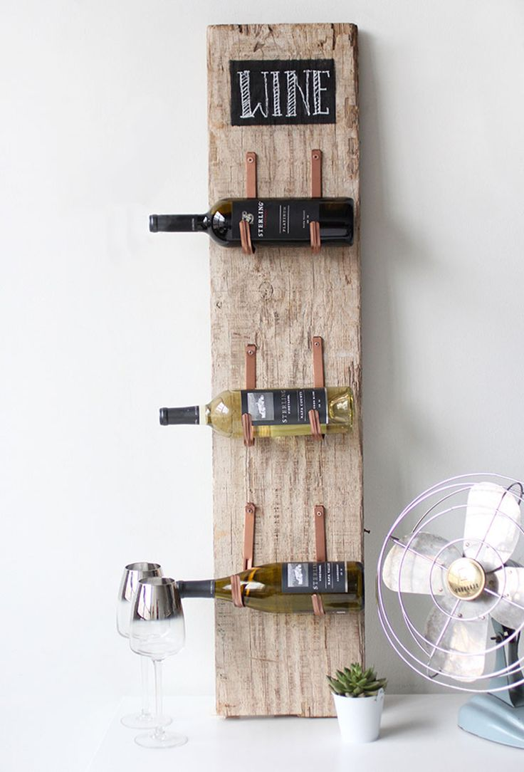 Oltre 25 fantastiche idee su portabottiglie per vino fai for Idee minuscole