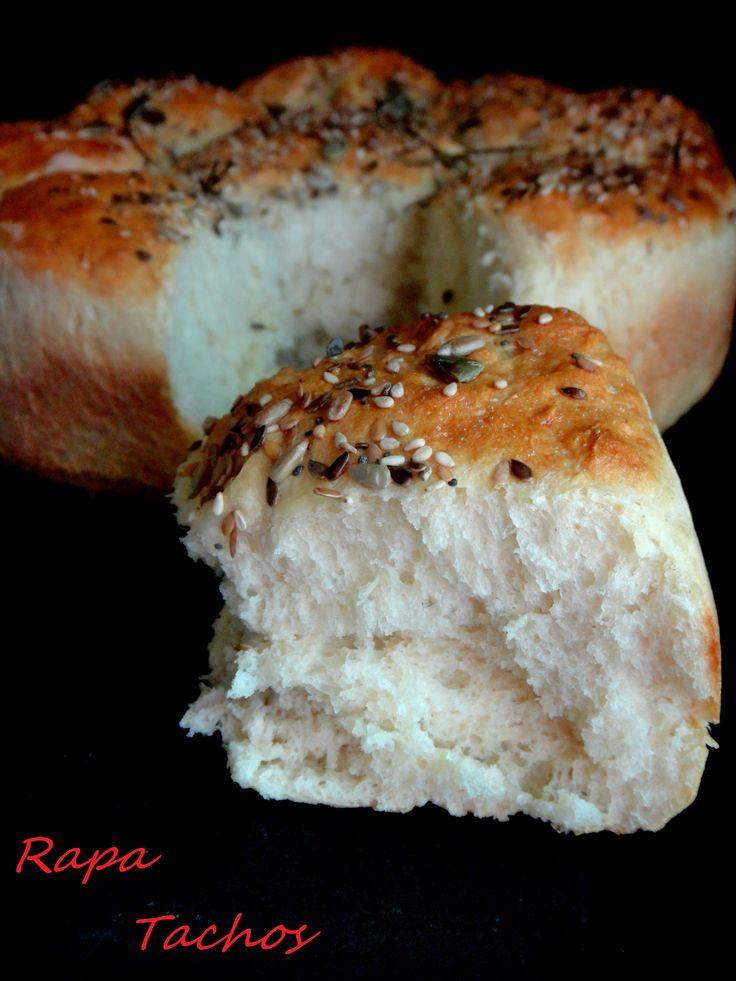pão de batata e sementes