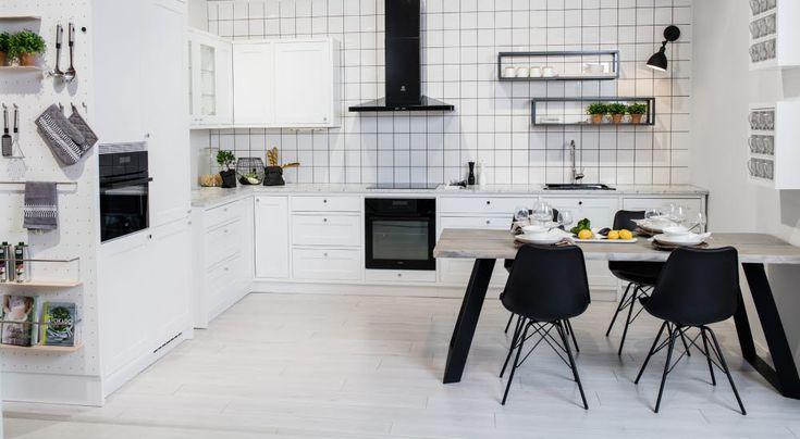 Petra-keittiö Sandra-Raami #keittiö #kitchen
