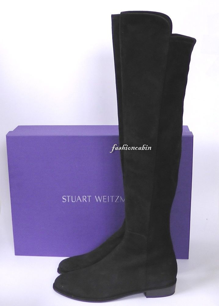 3304a667908 NEW Stuart Weitzman Suede Over the Knee Boot- Allgood Shoe