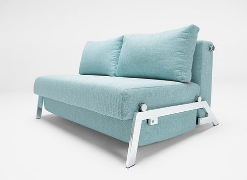 Cubed Sleek Turkish Blue Textile Full Size By Innovation Cubed Sleek Sofa Bed Turkish Blue By Innovation Blue Boysbedro In 2020 With Images Diy Sofa Bed Sofa Bed Sale Sofa
