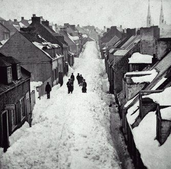 1872- Québec sous la neige!