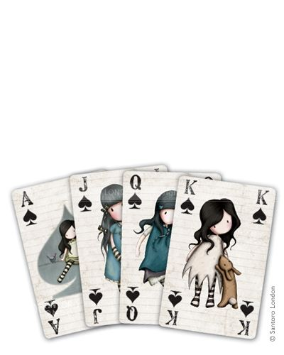 Gorjuss - Playing Cards - Santoro London