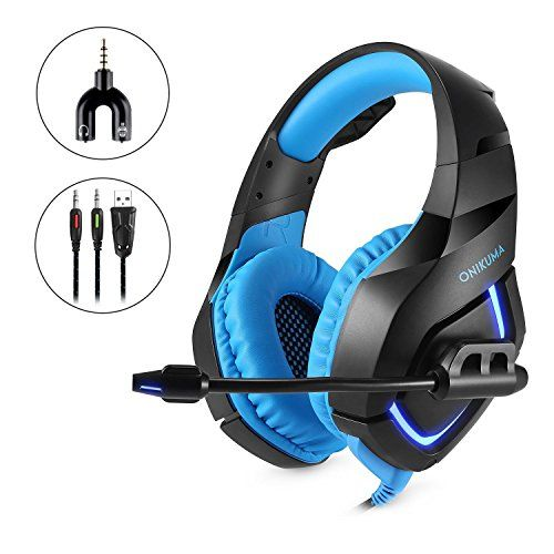FarCry 5 Gamer  #Gaming #Headset with #Mic #LED #Light 7.1 #Surround #Stereo #Sound 3.5mm #Wired #Noise #Isolation #Volume Control,Blue   Price:     Specifications: Speaker diameter: 50mm Impedance: 20ohm±15% Sensitivity: 117dB±3dB Frequency: 20-20000Hz #Mic dimension: 6.0 * 2.7mm #Mic sensitivity: -36dB +/- 1dB #Mic impedance: 2.2kohm Directivity: Omni-directional #LED working voltage: DC5V +/- 5% Working current: Below 100mA #Headset interface: USB (plug the USB connector