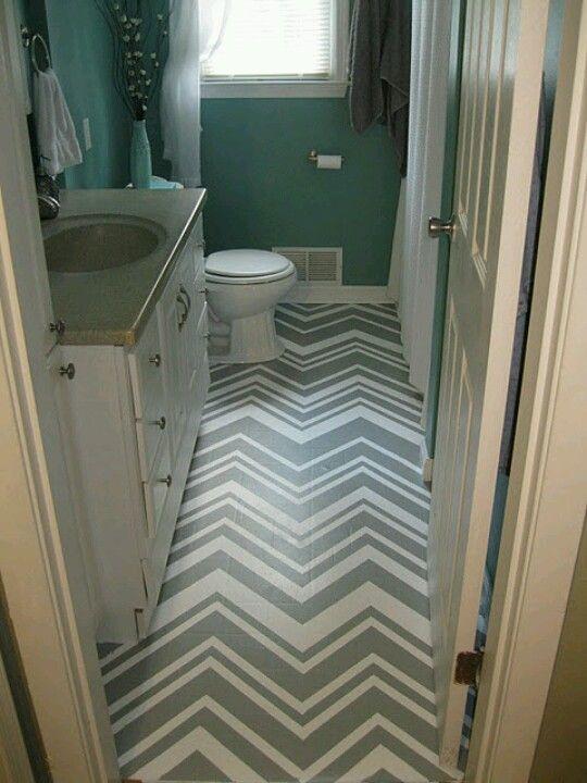 Paint over out dated linoleum floors colorful house for Paint linoleum tile floor