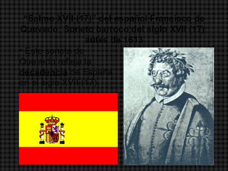El Soneto de Quevedo refleja la decadencia de España en el siglo XVII ((ENLACE 4))