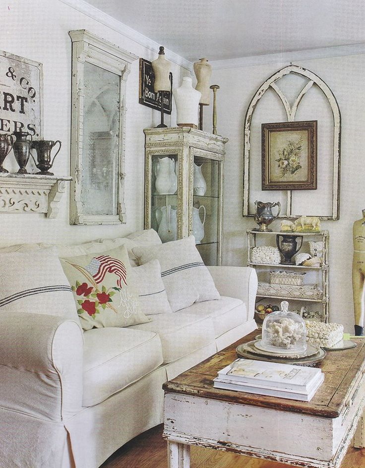 17 best images about white sofas on pinterest shabby for French country farmhouse