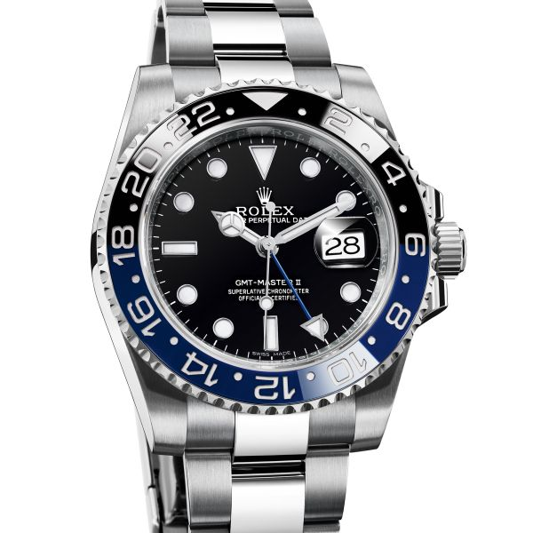 La Cote des Montres : Prix du neuf et tarif de la montre Rolex - Collection Professionnelles - GMT-Master II - 116710 BLNR
