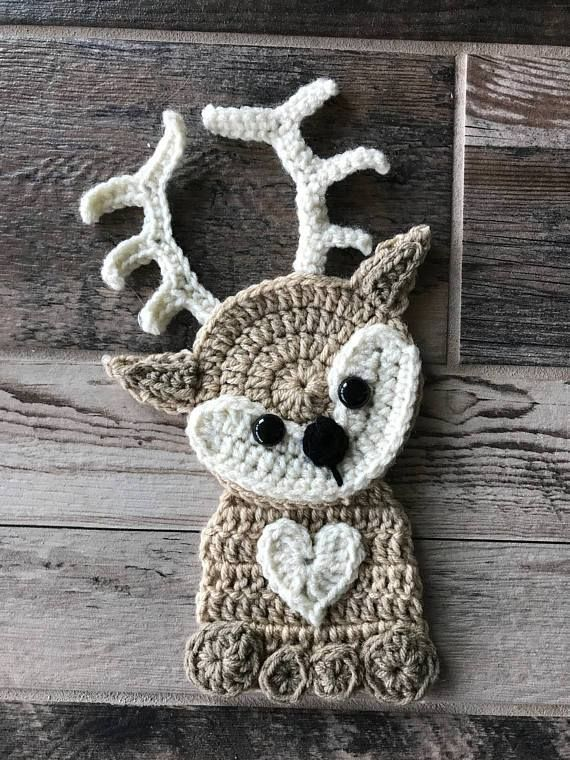 Baby Deer Applique Pattern