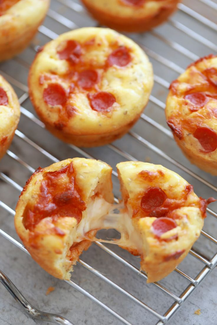 Pizza Cupcakes - everything you love about pizza but in a cupcake!!