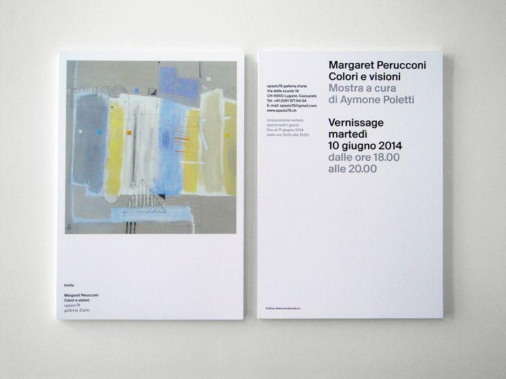 Margaret Perucconi   Invito Galleria78