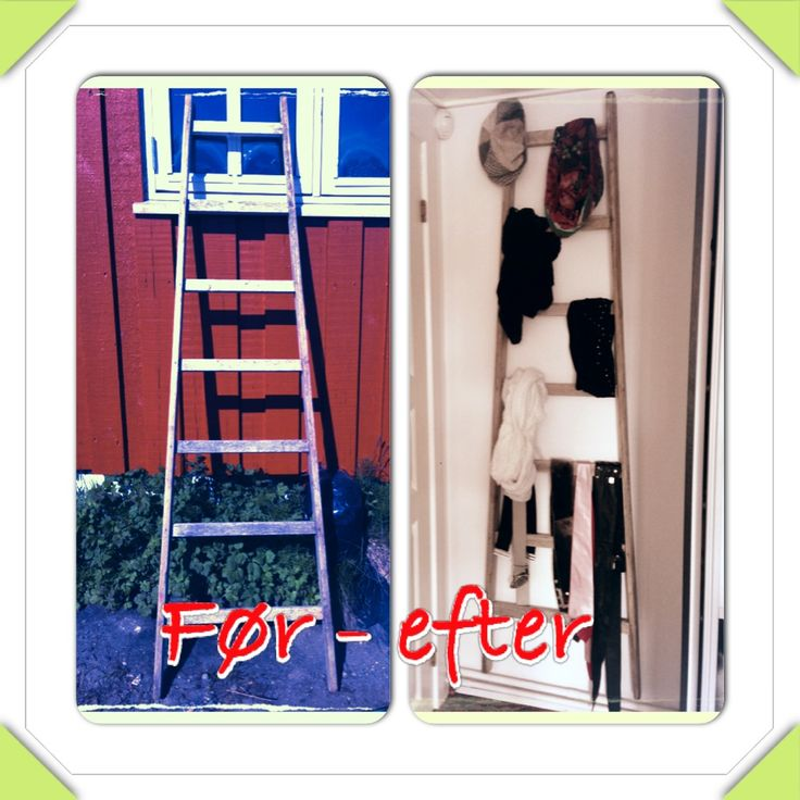 Ladder makeover :)