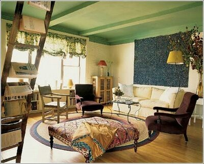 Love This Color Scheme Ottoman Painted Ceilings