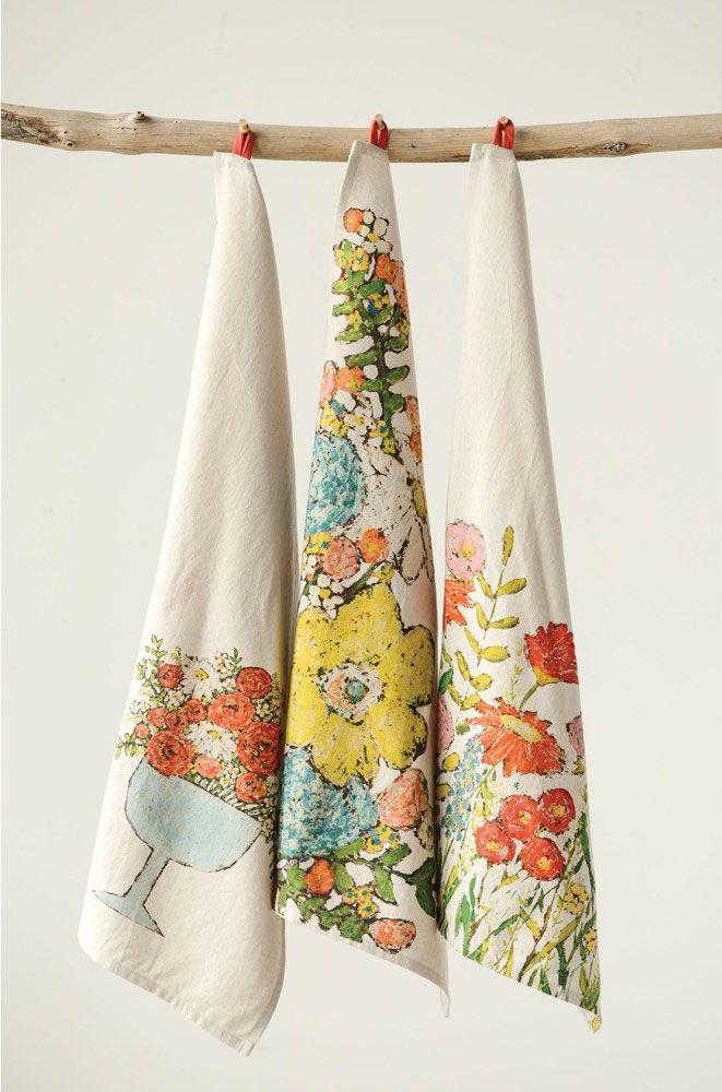 Wall Hanging  Fragonard Designed by Pim Delightful DORSET Cotton Tea Towel