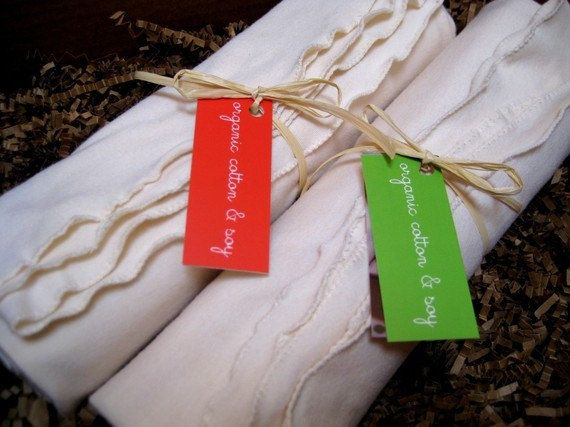 Swaddling Receiving Blanket - Organic Cotton And Soy.