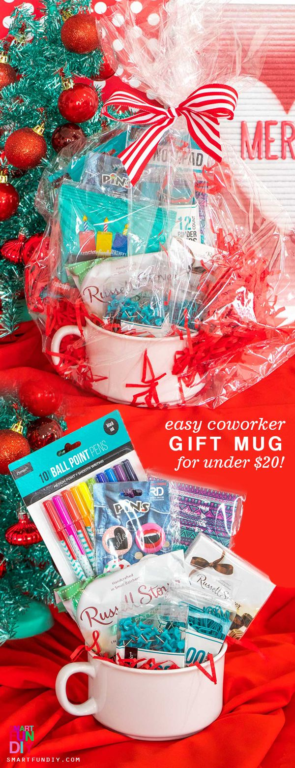 6 Secret Santa Gift Ideas for Under $20 - Smart Fun DIY. Be prepared for everyone on your Secret Santa list with gifts from 99 Cents Only!