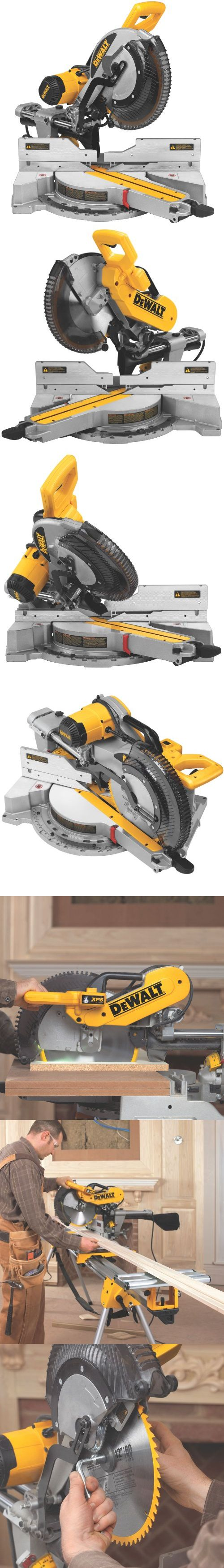 DEWALT DWS780 12-Inch Double Bevel Sliding Compound Miter Saw - The DEWALT DWS780 12-inch double bevel sliding compound miter saw expertly walks the line between the rugged durability and fine precision that professionals need on the job site. From delicate woodwo... - Miter Saws - Tools & Hardware - $509.99