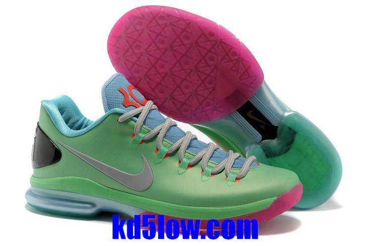Nehmen Billig Deal Greens Kevin Durant 2013 Nike Kd 5 Elite 585386 046 Rot Schuhe Schwarz Lila Billig