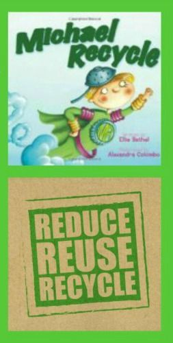 {A 'Going Green' Guide for Preschoolers}  Books and activities that teach recycling & earth-friendly behaviors at home, at school and in the community.