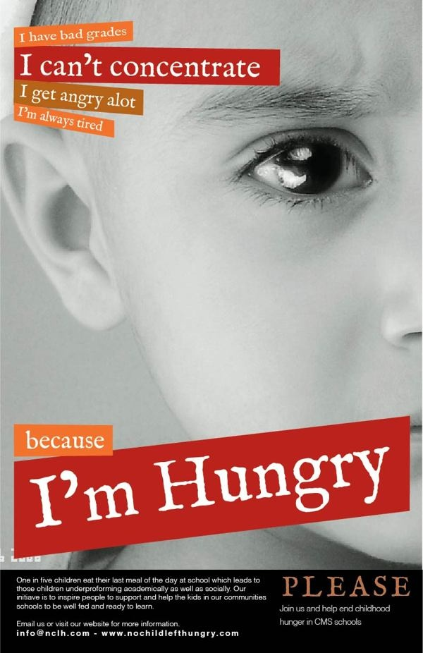 PSA campaign for american childhood hunger awareness