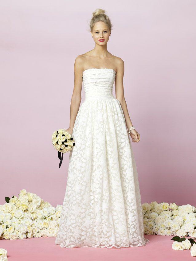 Best Straples White Dresses Images On Pinterest Wedding