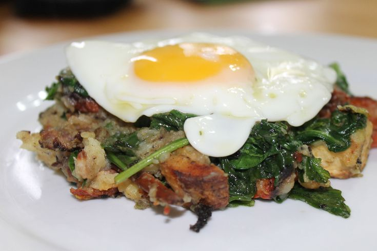 Bubble and squeak is essentially a leftovers dish. It is a traditional British dish designed to use up the leftover vegetables from a roast dinner. Sometimes leftover meat is added, other times i...