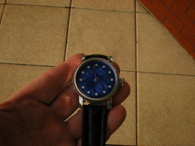 Leszek Kralka guilloche enamel watch dial